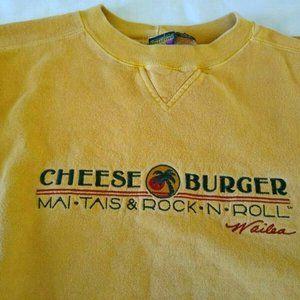 Cheeseburger Grille Wailea Hawaii Sweatshirt L